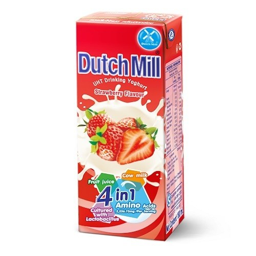 Dutch-mill-Yogurt-drink-Strawberry-180ml