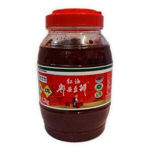 Jiuanfei-broad-bean-paste-with-chilli-oil-1.2kg