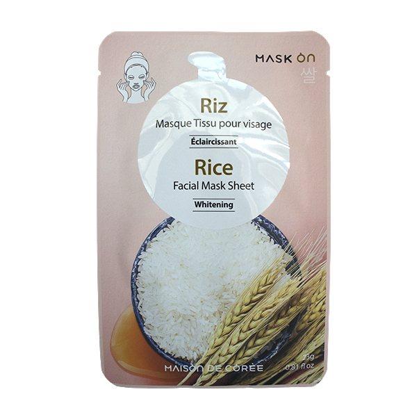 MaskOn-Rice-Facial-Mask-Sheet-23g