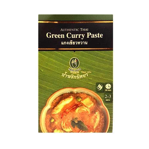 Nittaya Green Curry Paste 50g 1