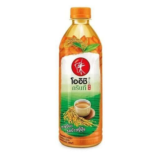 oishi-green-tea-genmai-flavor-500ml