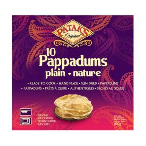 Pataks-Pappadums-Plain-100g