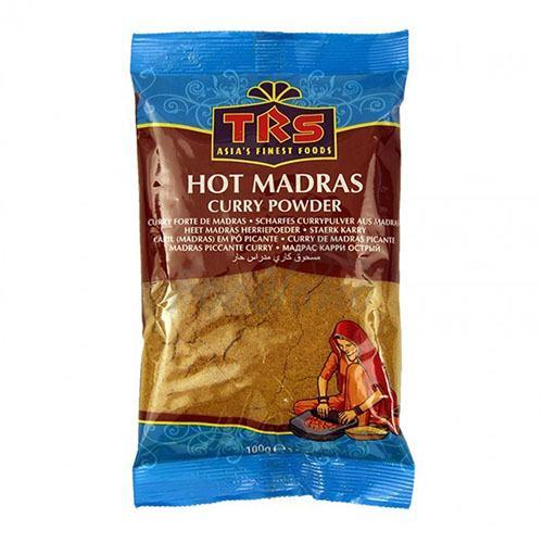 Trs Hot Madras Curry Powder 100g 1