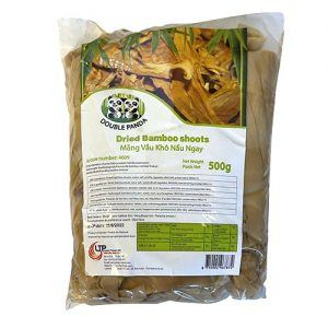 Double Panda Dried Bamboo Shoots 500g 1