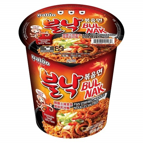 Paldo-Bulnak-Sweet-and-Spicy-Pan-Stir-Fried-Instant-Cup-Noodles-70g
