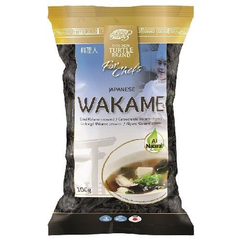 Golden-Turtle-for-Chefs-Japanese-Dried-Wakame-Seaweed-100gr.