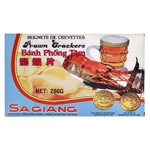 Sagiang Raw Prawn Crackers 200g 1