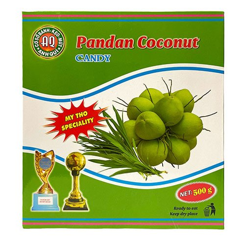 Anh Qui Pandan Coconut Candy 500gr 2 1