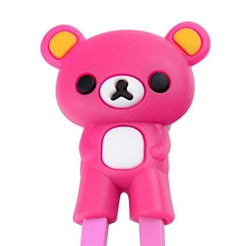 children-chopsticks-bear-pink-22cm-1