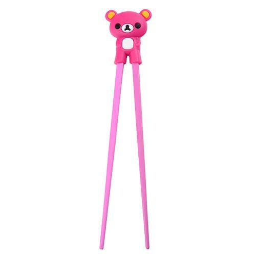 children-chopsticks-bear-pink-22cm