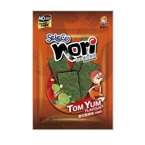 seleco-seaweed-snack-tom-yum-36g