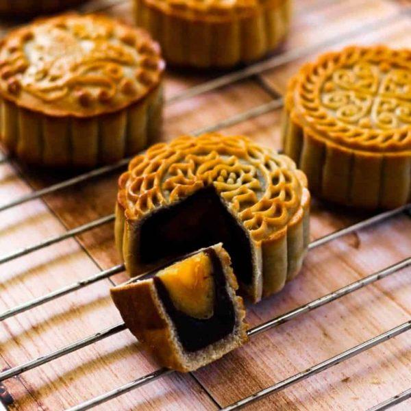 mooncakes-redbean